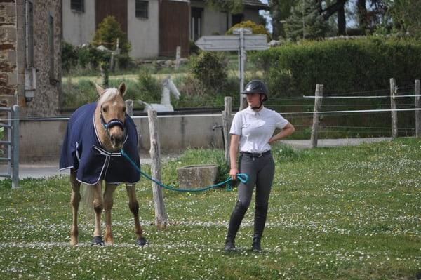 Malvina et Sissi après le concours interne 2020