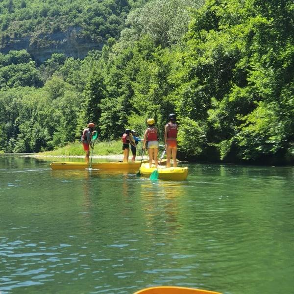 Du canoë au paddle, il n'y a qu'un pas